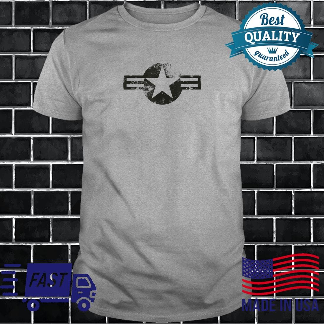 Air Force Logo Vintage US Military Airforce Shirt long sleeved