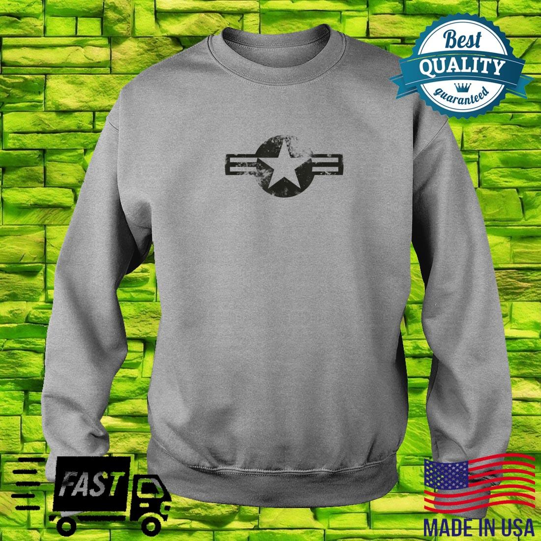 Air Force Logo Vintage US Military Airforce Shirt sweater
